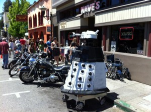 dalek parking only