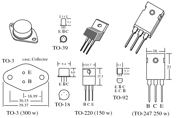 transistor power schemic